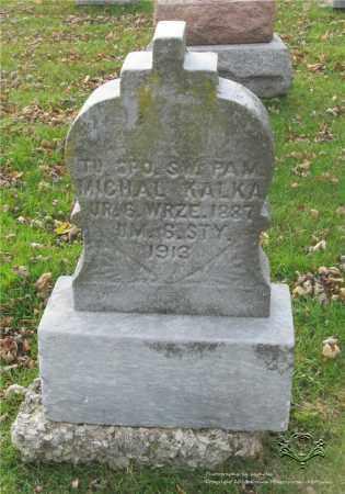 KALKA, MICHAL - Lucas County, Ohio   MICHAL KALKA - Ohio Gravestone Photos