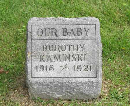 KAMINSKI, DOROTHY - Lucas County, Ohio | DOROTHY KAMINSKI - Ohio Gravestone Photos