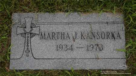 KANSORKA, MARTHA J. - Lucas County, Ohio   MARTHA J. KANSORKA - Ohio Gravestone Photos