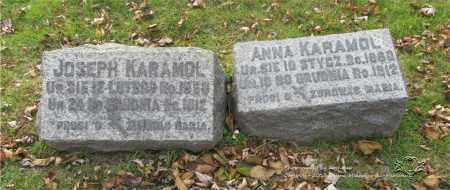 PAUKA KARAMOL, ANNA - Lucas County, Ohio | ANNA PAUKA KARAMOL - Ohio Gravestone Photos