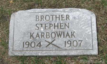 KARBOWIAK, STEPHEN - Lucas County, Ohio | STEPHEN KARBOWIAK - Ohio Gravestone Photos