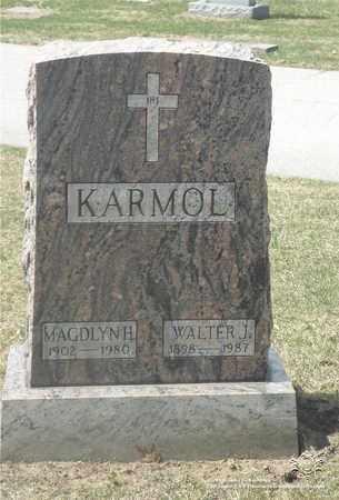 OLDIGES KARMOL, MAGDLYN H. - Lucas County, Ohio | MAGDLYN H. OLDIGES KARMOL - Ohio Gravestone Photos