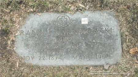 KARNIKOWSKI, FRANK J. - Lucas County, Ohio | FRANK J. KARNIKOWSKI - Ohio Gravestone Photos