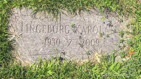 KAROLAK, INGEBORG - Lucas County, Ohio | INGEBORG KAROLAK - Ohio Gravestone Photos