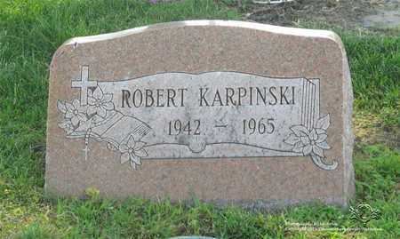 KARPINSKI, ROBERT - Lucas County, Ohio | ROBERT KARPINSKI - Ohio Gravestone Photos