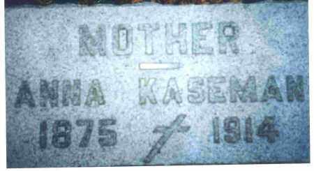 GEDERT KASEMAN, ANNA CATHERINE - Lucas County, Ohio | ANNA CATHERINE GEDERT KASEMAN - Ohio Gravestone Photos