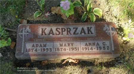 KASPRZAK, ADAM - Lucas County, Ohio | ADAM KASPRZAK - Ohio Gravestone Photos