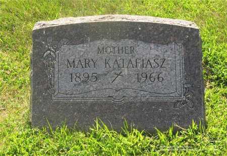 KATAFIASZ, MARY - Lucas County, Ohio | MARY KATAFIASZ - Ohio Gravestone Photos