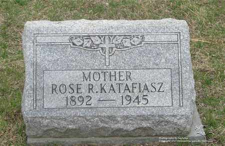 KATAFIASZ, ROSE R. - Lucas County, Ohio | ROSE R. KATAFIASZ - Ohio Gravestone Photos