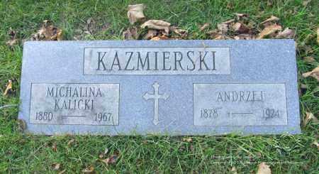 KALICKI KAZMIERSKI, MICHALINA - Lucas County, Ohio | MICHALINA KALICKI KAZMIERSKI - Ohio Gravestone Photos