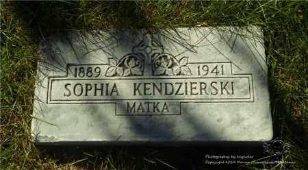 BURKOWSKI KENDZIERSKI, SOPHIA - Lucas County, Ohio   SOPHIA BURKOWSKI KENDZIERSKI - Ohio Gravestone Photos