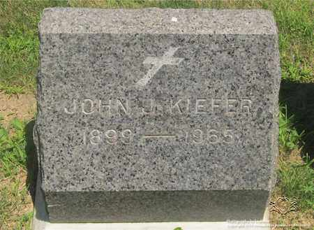 KIEFER, JOHN J. - Lucas County, Ohio | JOHN J. KIEFER - Ohio Gravestone Photos