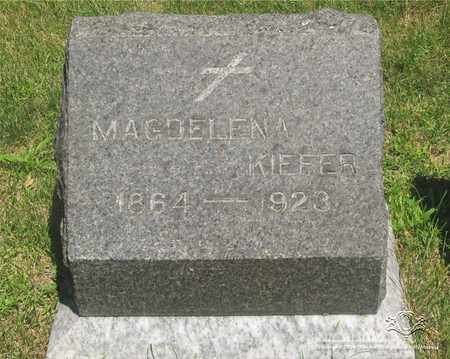 MUELLICH KIEFER, MAGDELENA - Lucas County, Ohio | MAGDELENA MUELLICH KIEFER - Ohio Gravestone Photos