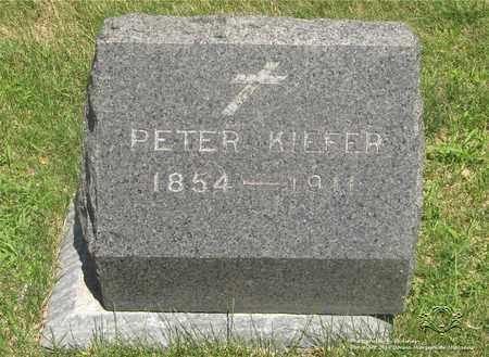 KIEFER, PETER - Lucas County, Ohio | PETER KIEFER - Ohio Gravestone Photos