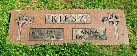 KIESZ, MICHAEL - Lucas County, Ohio   MICHAEL KIESZ - Ohio Gravestone Photos