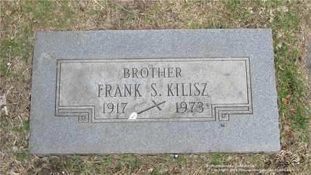 KILISZ, FRANK S. - Lucas County, Ohio   FRANK S. KILISZ - Ohio Gravestone Photos
