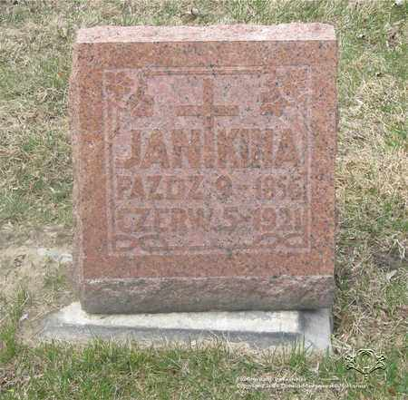KINA, JAN - Lucas County, Ohio   JAN KINA - Ohio Gravestone Photos