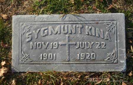 KINA, SYGMUNT - Lucas County, Ohio | SYGMUNT KINA - Ohio Gravestone Photos