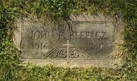 KLEPACZ, JOHN R. - Lucas County, Ohio | JOHN R. KLEPACZ - Ohio Gravestone Photos