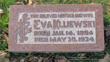 KLIJEWSKI, EVA - Lucas County, Ohio | EVA KLIJEWSKI - Ohio Gravestone Photos