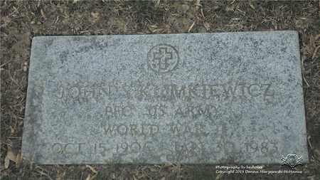 KLIMKIEWICZ, JOHN S. - Lucas County, Ohio   JOHN S. KLIMKIEWICZ - Ohio Gravestone Photos