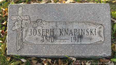 KNAPINSKI, JOSEPH - Lucas County, Ohio | JOSEPH KNAPINSKI - Ohio Gravestone Photos