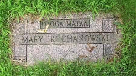 KOCHANOWSKI, MARY - Lucas County, Ohio | MARY KOCHANOWSKI - Ohio Gravestone Photos