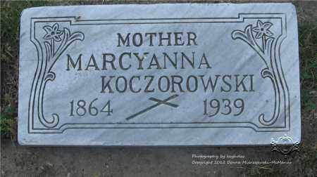KOCZOROWSKI, MARCYANNA - Lucas County, Ohio | MARCYANNA KOCZOROWSKI - Ohio Gravestone Photos