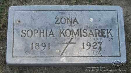 KOMISAREK, SOPHIA - Lucas County, Ohio | SOPHIA KOMISAREK - Ohio Gravestone Photos
