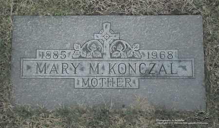 KONCZAL, MARY M. - Lucas County, Ohio   MARY M. KONCZAL - Ohio Gravestone Photos
