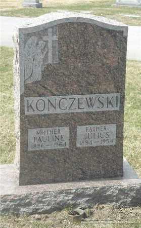 ZUREK KONCZEWSKI, PAULINE - Lucas County, Ohio | PAULINE ZUREK KONCZEWSKI - Ohio Gravestone Photos