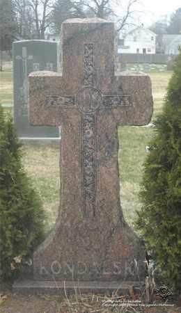 KONDALSKI, FAMILY MONUMENT - Lucas County, Ohio | FAMILY MONUMENT KONDALSKI - Ohio Gravestone Photos