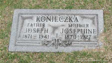 KONIECZKA, JOSEPH - Lucas County, Ohio | JOSEPH KONIECZKA - Ohio Gravestone Photos