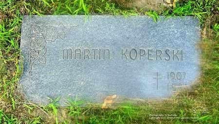 KOPERSKI, MARTIN - Lucas County, Ohio | MARTIN KOPERSKI - Ohio Gravestone Photos