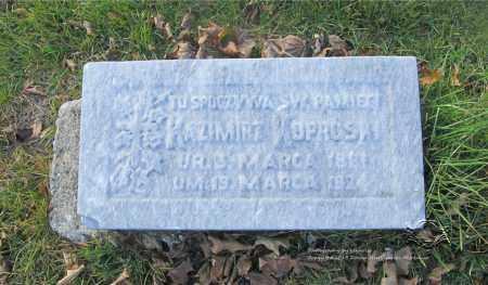 KOPROWSKI, KAZMIERZ - Lucas County, Ohio   KAZMIERZ KOPROWSKI - Ohio Gravestone Photos