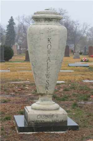 KORALEWSKI, CASIMIR - Lucas County, Ohio | CASIMIR KORALEWSKI - Ohio Gravestone Photos