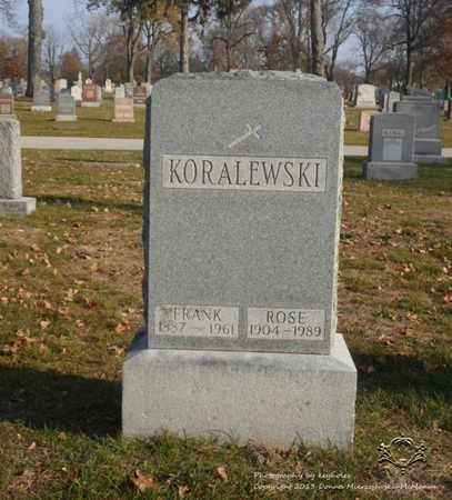 KORALEWSKI, FRANK - Lucas County, Ohio | FRANK KORALEWSKI - Ohio Gravestone Photos