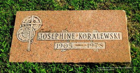 SUSKI KORALEWSKI, JOSEPHINE - Lucas County, Ohio   JOSEPHINE SUSKI KORALEWSKI - Ohio Gravestone Photos