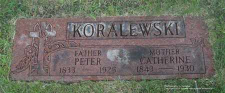 KORALEWSKI, PETER - Lucas County, Ohio | PETER KORALEWSKI - Ohio Gravestone Photos
