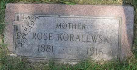KORALEWSKI, ROSE - Lucas County, Ohio | ROSE KORALEWSKI - Ohio Gravestone Photos