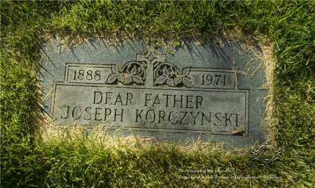 KORCZYNSKI, JOSEPH - Lucas County, Ohio   JOSEPH KORCZYNSKI - Ohio Gravestone Photos