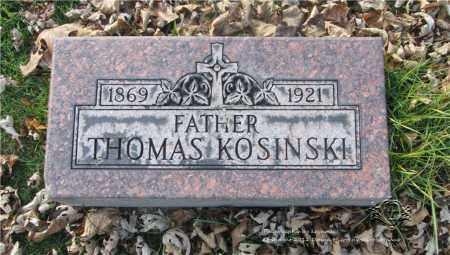 KOSINSKI, THOMAS - Lucas County, Ohio   THOMAS KOSINSKI - Ohio Gravestone Photos
