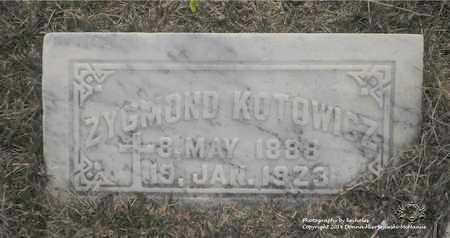 KOTOWICZ, ZYGMOND - Lucas County, Ohio | ZYGMOND KOTOWICZ - Ohio Gravestone Photos