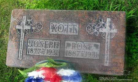 KOTT, ROSE - Lucas County, Ohio | ROSE KOTT - Ohio Gravestone Photos