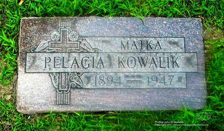 KOWALIK, PELAGIA - Lucas County, Ohio | PELAGIA KOWALIK - Ohio Gravestone Photos