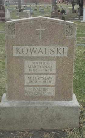 KOWALSKI, MARCYANNA - Lucas County, Ohio | MARCYANNA KOWALSKI - Ohio Gravestone Photos