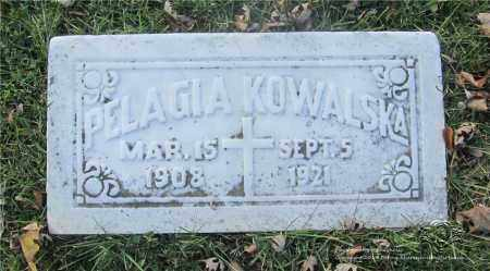 KOWALSKA, PELAGIA - Lucas County, Ohio | PELAGIA KOWALSKA - Ohio Gravestone Photos