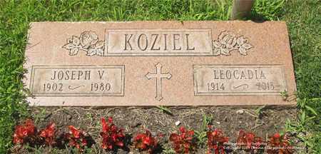KOZIEL, JOSEPH V. - Lucas County, Ohio | JOSEPH V. KOZIEL - Ohio Gravestone Photos