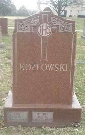 KOZLOWSKI, FRANK - Lucas County, Ohio | FRANK KOZLOWSKI - Ohio Gravestone Photos