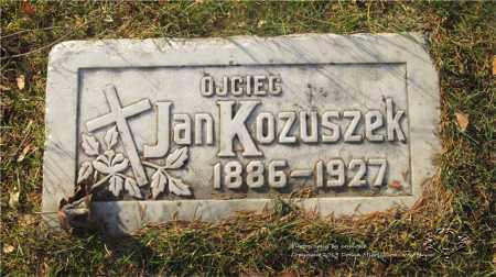 KOZUSZEK, JAN - Lucas County, Ohio | JAN KOZUSZEK - Ohio Gravestone Photos